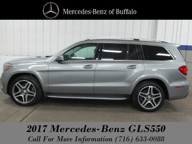 Certified Pre Owned 2017 Mercedes Benz Gls 550