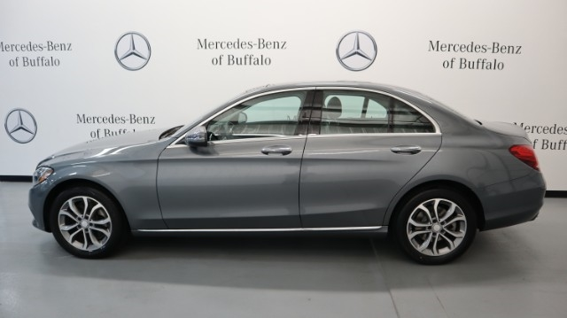 Certified Pre-Owned 2017 Mercedes-Benz C-Class C 300 4MATIC® Sedan with Luxury Pkg