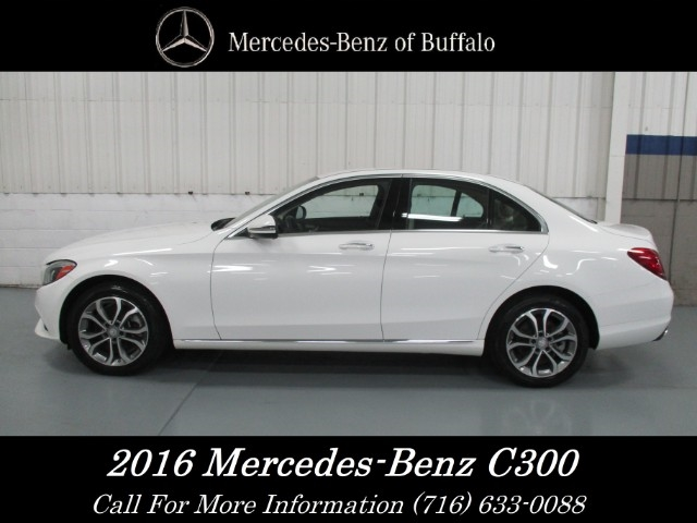 מבריק Pre-Owned 2016 Mercedes-Benz C-Class C 300 SEDAN in Williamsville SU-75