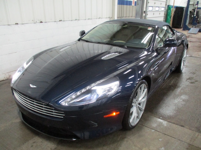 PreOwned Aston Martin DB Dr Volante Auto Coupe In - Aston martin db9 pre owned