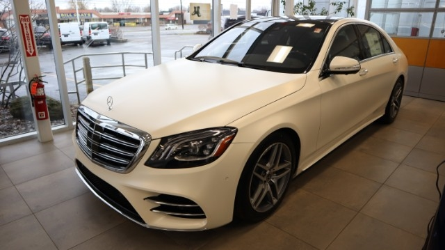 New 2020 Mercedes-Benz S-Class S 560 4MATIC® Sedan