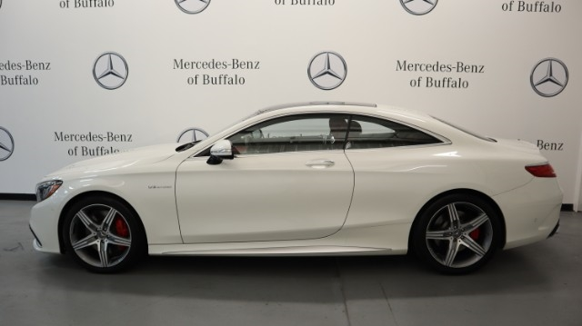 Certified Pre-Owned 2016 Mercedes-Benz S-Class 2dr Cpe AMG® S 63 4MATIC®
