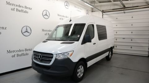 Pre-Owned 2019 Mercedes-Benz Sprinter Cargo Van 2500 Standard Roof V6 144 RWD