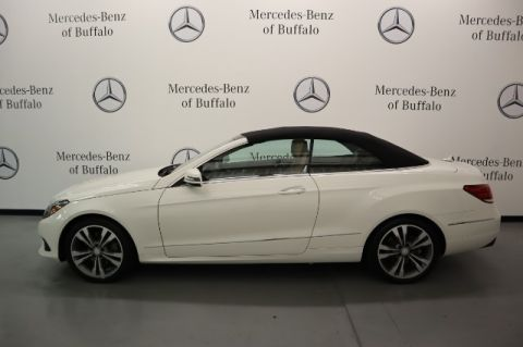 Pre-Owned 2017 Mercedes-Benz E-Class E 400 RWD Cabriolet