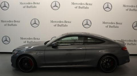 Pre-Owned 2018 Mercedes-Benz C-Class AMG® C 63 S Coupe