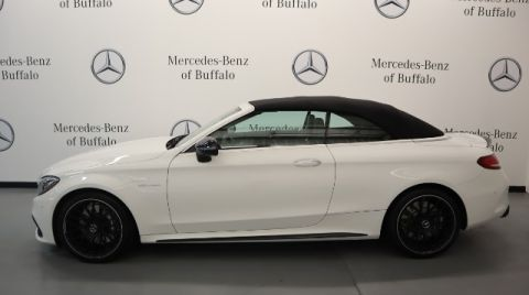 Certified Pre-Owned 2017 Mercedes-Benz C-Class AMG® C 63 Cabriolet